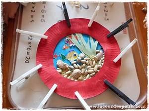 Bricolage A Faire Avec Des Petit : les petits poissons bricolage avec assiette en carton ~ Melissatoandfro.com Idées de Décoration