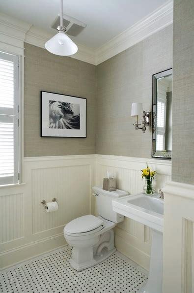 wainscoting ideas bathroom twine how to update a 70 s bathroom