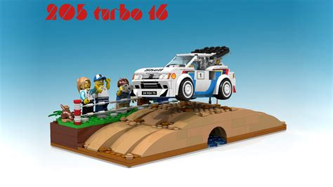 Lego Peugeot 205 T16 Rally Car Proposal Is Already A ...