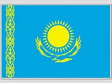 Kazakhstan Flag, Flag of Kazakhstan