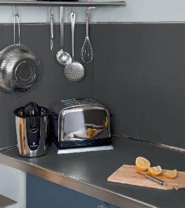 peinture pour carrelage de cuisine peinture v33 pour carrelage de crédence cuisine en gris