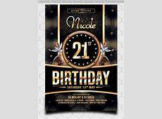 25+ Spectacular Birthday Flyers Templates Sample Templates