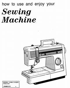 Brother Model Vx 847 870 Instruction Manual Pdf Download
