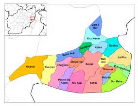 Nangarhar Province Districts