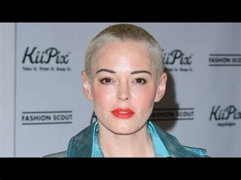Rose McGowan reveals why short hair could have cost her ...