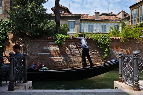 Difference Between Gondola And Boat by Boats And People Venice As A Harbour Photo Walks In Venice
