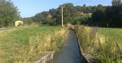chambre agriculture avignon irrigation en vaucluse canaux ouvrages