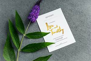 rockwell invitation the foil invite company With foil stamped wedding invitations uk