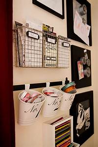 Pinterest the ideas are endless for Wall storage ideas for office