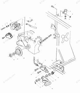 Polaris Atv 1999 Oem Parts Diagram For Rear Brake  Foot