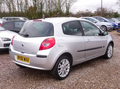 Renault Clio 2007 by Used Renault Clio 2007 Silver Paint Petrol 1 4 16v