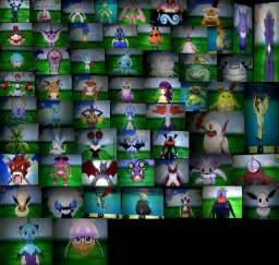 Pokemon X and Y Shiny