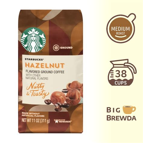 Starting february 11 to 24, 2015, city blends will give its customers the chance to express themselves honestly through the it's time to get honest with a cup of city blends coffee! Starbucks Hazelnut Flavored Ground Coffee 11oz / 311g ...