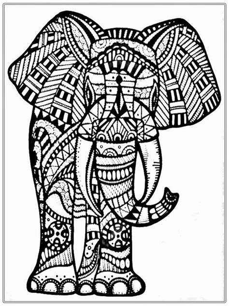 grown  coloring pages  google search elephant