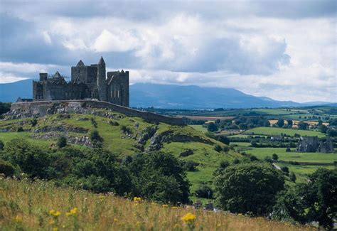 vintage dining rooms rock of cashel co tipperary landscape with the