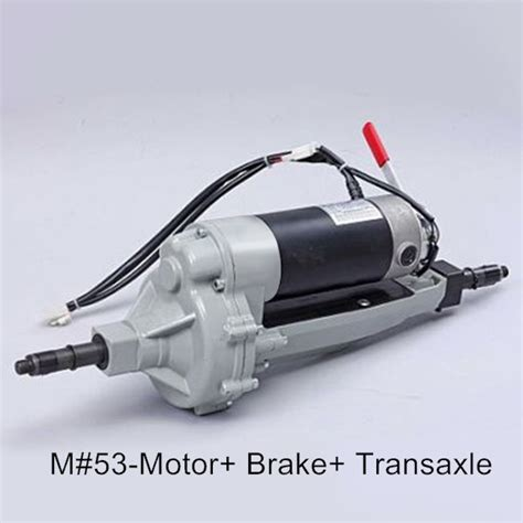 m53 transaxle assembly 400w motor 4200rpm with brake mobility scooter gearbox transaxle motor