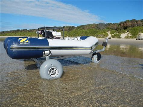 Boat Trailer Balloon Tires by Test Beachwheels Australia