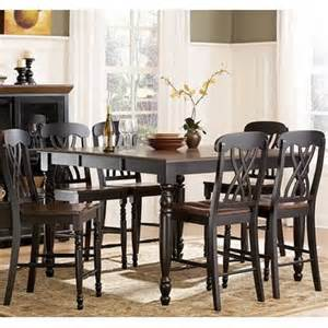 homelegance ohana 5 piece counter height dining room set