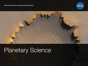 Overview of NASA's Science Mission Directorate
