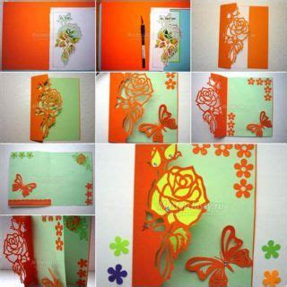 wonderful diy butterfly greeting card  images