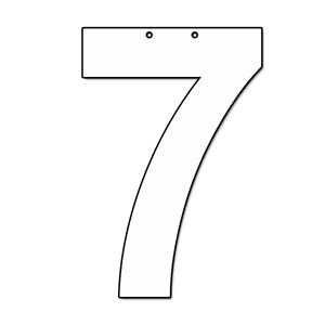 cut out letter b cardboard ea supplies cut out number 7 cardboard ea supplies 12226