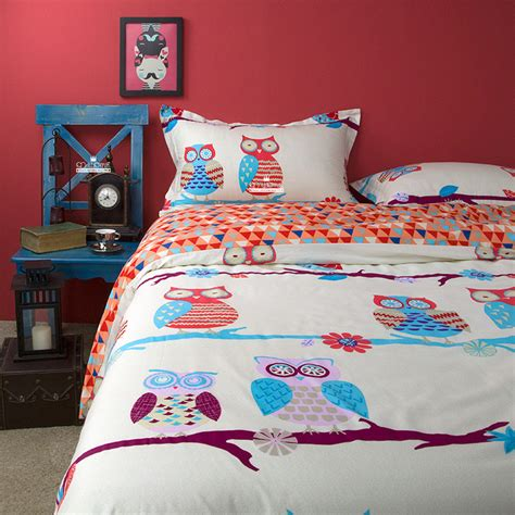 Owl Bedding by Enjoy Your Most Precious Time With Sketchy Owl Bedding