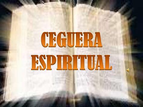 Ceguera Espiritual