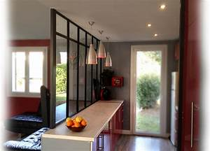 Verriere Interieure Metallique : verri re acier ~ Premium-room.com Idées de Décoration