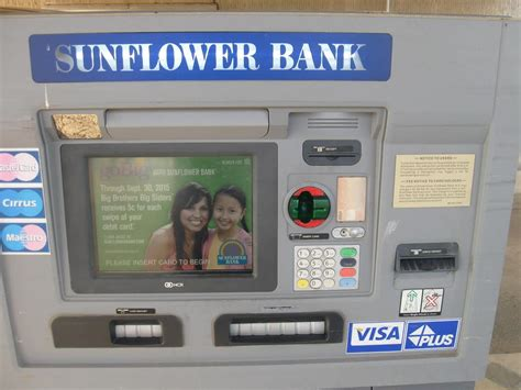 sunflower bank phone number for card skimmers when using your atm
