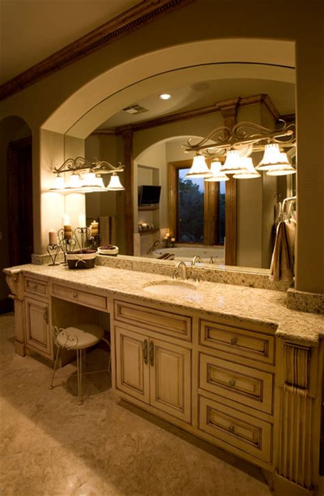 custom bathroom vanity  painted flush inset cabinet