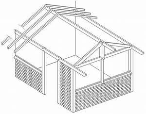 Plan Cabane En Bois Pdf : plans en perspective exemple plans charpente ~ Melissatoandfro.com Idées de Décoration