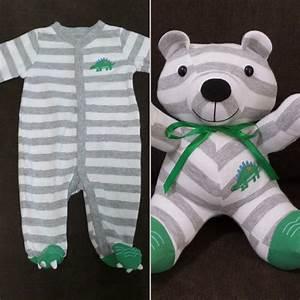 Turn A Baby Onesie Into A Stuffed Bear