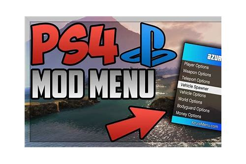 download gta5 online mod menu ps4