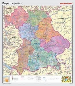Deutschland Physische Karte : wandkarte westermann deutschland geografie geographie bundesland freistaat ~ Watch28wear.com Haus und Dekorationen