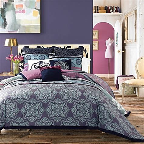 anthology terra mini comforter set 100 cotton bed