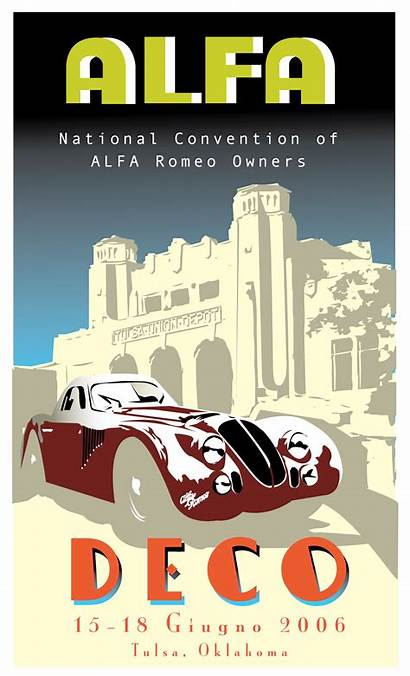 Romeo Alfa Posters Poster Deco Club Owners