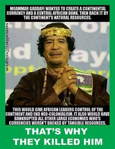 Gaddafi Meme - gold is why he was assassinated do you have any saved up be prepared remember 1933