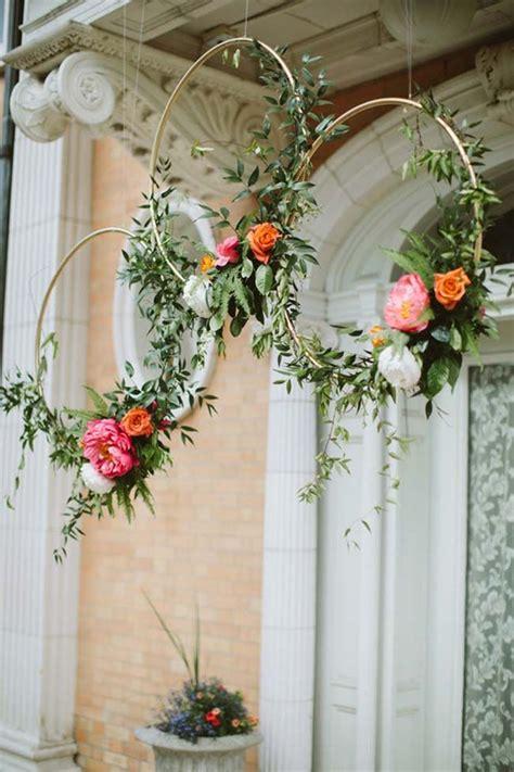 arco de flores no casamento 2018 wreaths boda