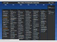 How To Set Up A Personalised Television Calendar