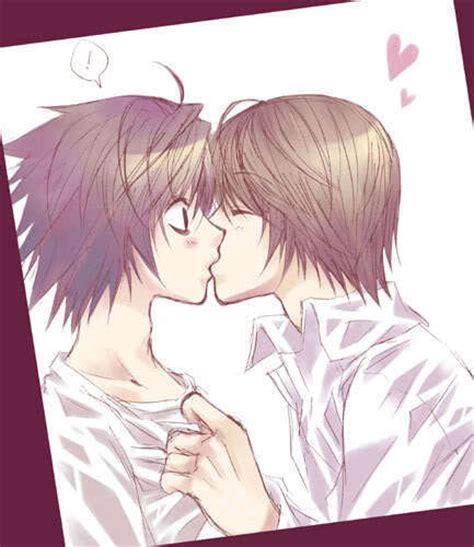 Anime Kiss Death Note Death Note Yaoi Photo 16920711 Fanpop