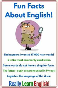 10 Fun Facts about English
