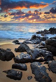Sunset Beach Oahu Hawaii