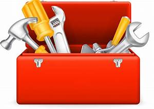 Bezierinfoベジェインフォ: 工具箱 Cartoons toolbox vector material イラスト素材