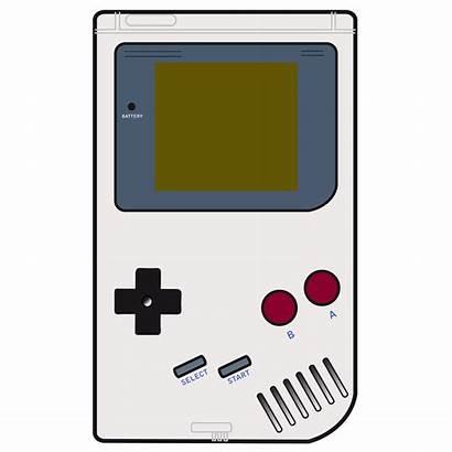 Gameboy Boy Clipart Clip Advance Gaming Transparent
