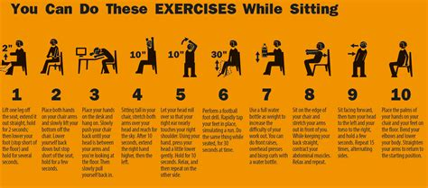 exercises to do at your desk with pictures 10 easy exercises you can do at your office cubicle www