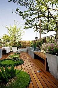 25 beautiful rooftop garden designs to get inspired for Katzennetz balkon mit scout garden