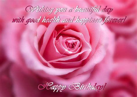 pink rose happy birthday card gallery yopriceville