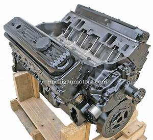 New 5 7 L Vortec Base Marine Engine With Carburetor
