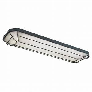 World imports wi light linear fluorescent flush