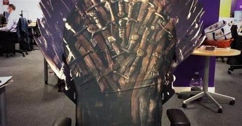 Extremely Rare Game of Thrones: Iron Throne Office Chair